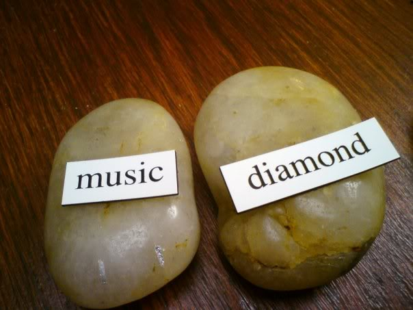 music-diamond