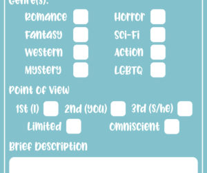 Countdown to NaNoWriMo: Day 7 — One-Page Plot Sheet